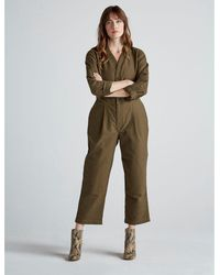 Lucky Brand Utility Coverall - Green