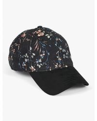 Lucky Brand - Floral Printed Hat - Lyst