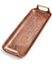 Lucky Brand Small Copper Serving Tray - Multicolor
