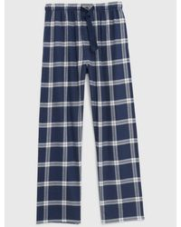 Lucky Brand - Plaid Lounge Pants - Lyst