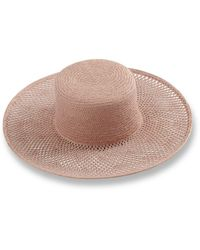 Lucky Brand Woven Straw Boater - Multicolor