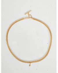 Lucky Brand Chain Toggle Necklace - Metallic
