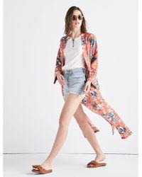 Lucky Brand - Cypress Floral Kimono - Lyst