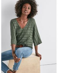 Lucky Brand - Mix Stitch Pullover - Lyst