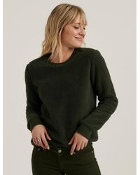 Lucky Brand - Sherpa Crew Neck Pullover - Lyst