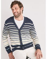 Lucky Brand - Welterweight Striped Cardigan - Lyst