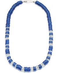 Lulu Frost - George Frost Victory Morse Glass Bead Necklace - Lyst