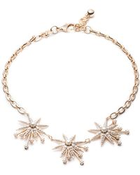 Lulu Frost - Nova Star Necklace - Gold & Pearl - Lyst