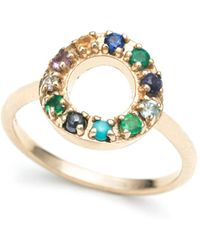 Lulu Frost | Code 10k 'seize The Day' Ring | Lyst