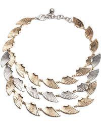 Lulu Frost - Horizon Triple Necklace - Lyst