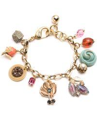 Lulu Frost - Vintage Voyage Charm Bracelet 17 - Lyst