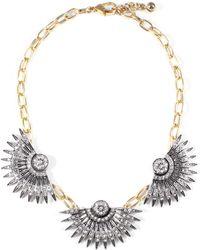 Lulu Frost - Beacon Triple Necklace - Lyst