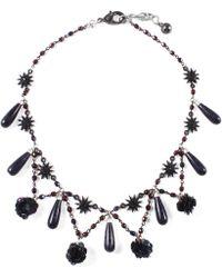 Lulu Frost   Rose Necklace   Lyst