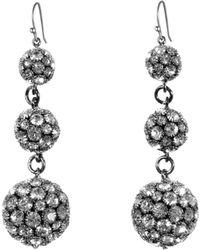 Lulu Frost - Royale Triple Drop Earrings - Lyst