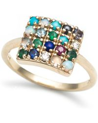 Lulu Frost - Code 10kt 'to Thine Own Self Be True' Ring - Lyst