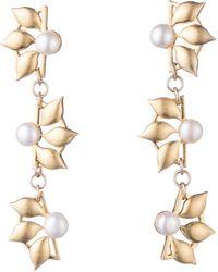 Lulu Frost - Pacific Pearl Post Drop Earrings - Lyst