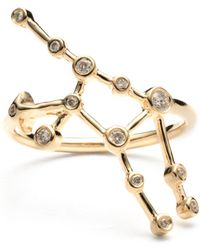 Lulu Frost - Zodiacs 14k Virgo + Earth Ring - Lyst