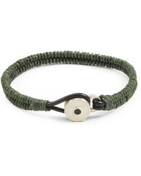 Lulu Frost - George Frost Brave & New Woven Bracelet - Fir Green - Lyst