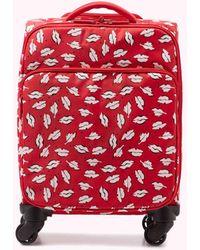 Lulu Guinness Scarlet Beauty Spot Felicity Case - Red