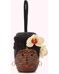 Lulu Guinness Ella Basket Bag - Natural