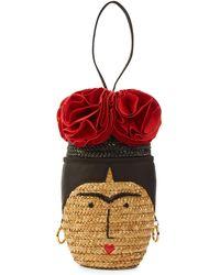 Lulu Guinness - Frida Head Basket - Lyst
