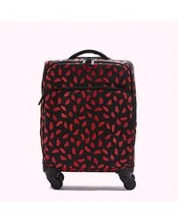Lulu Guinness Handpainted Lips Felicity Case - Red