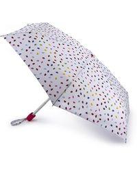 Lulu Guinness - Confetti Lip Print Tiny Umbrella - Lyst