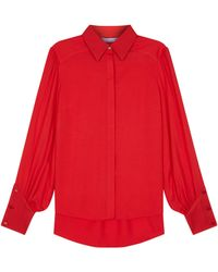 Lulu Guinness - Red Beatrix Blouse - Lyst
