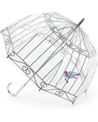 Lulu Guinness Birdcage Umbrella - Multicolour