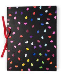 Lulu Guinness - Multi Confetti Lip Print Concertina File - Lyst