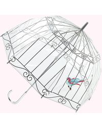 Lulu Guinness Birdcage Umbrella - Multicolour