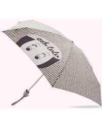 Lulu Guinness Ooh Lulu Umbrella - Multicolour