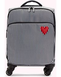 Lulu Guinness Heart And Stripes Felicity Case - Multicolour