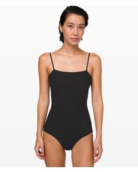 lululemon athletica Pool Play Full Bum One-piece *online Only - Black