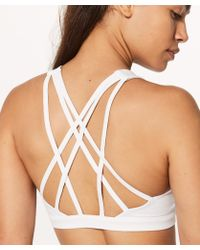 lululemon athletica Free To Be Serene Bra*light Support, C/d Cup - White