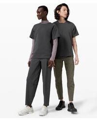 lululemon athletica Confluence Short Sleeve Crew * Lab - Grey