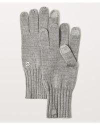 lululemon athletica - Wool Be Toasty Gloves - Lyst