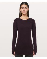 lululemon athletica - Sit In Lotus Sweater - Lyst