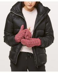 lululemon athletica - Show Me The Sherpa Mittens - Lyst