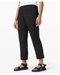 lululemon athletica Your True Trouser 7/8 Pant - Black