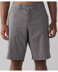 """lululemon athletica - The Works Short *qwick Oxford 11"""" - Lyst"""