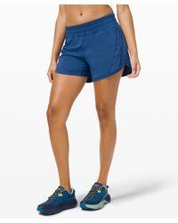 "lululemon athletica Track That Short 5"" - Blue"