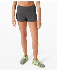 "lululemon athletica Speed Up Short High-rise 2.5"" *online Only - Grey"