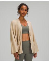 lululemon athletica Cashlutm Knit Textured Wrap - Multicolour