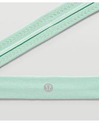 lululemon athletica Cardio Cross Trainer Headband - Green