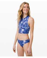 lululemon athletica Sunshine Ahead Swim Tank - Blue