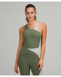 lululemon athletica Nulu Asymmetrical Bodysuit - Green