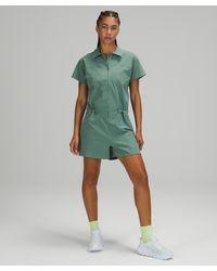 lululemon athletica Stretch Rib Pocketed Romper - Green