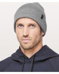901e1e9739e55 lululemon athletica - Cold Pursuit Knit Beanie - Lyst