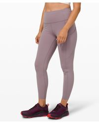 """lululemon athletica Fast And Free Hr Tight 25"""" - Multicolour"""